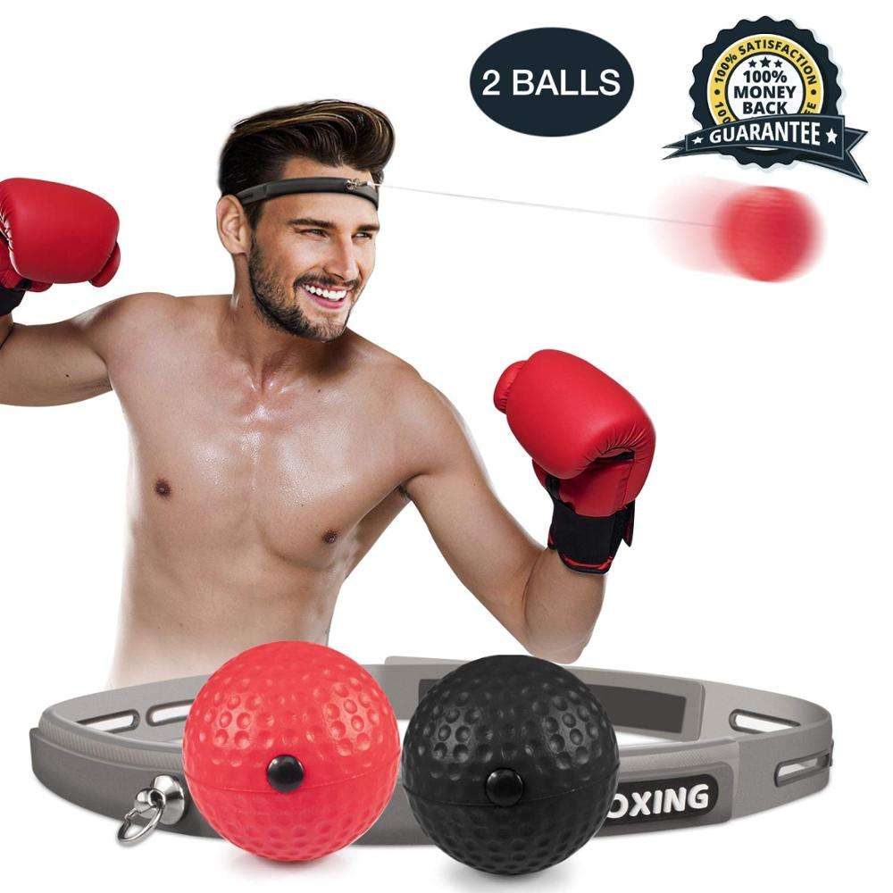 Fight Reflex Ball Set 2 Difficulty Level Boxing Ball with Headband