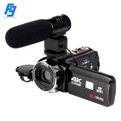Professional Video Camcorder HDV4K HD Digital Camera Travel Daily Shooting Wedding Support 4K with MIC Easy Operation