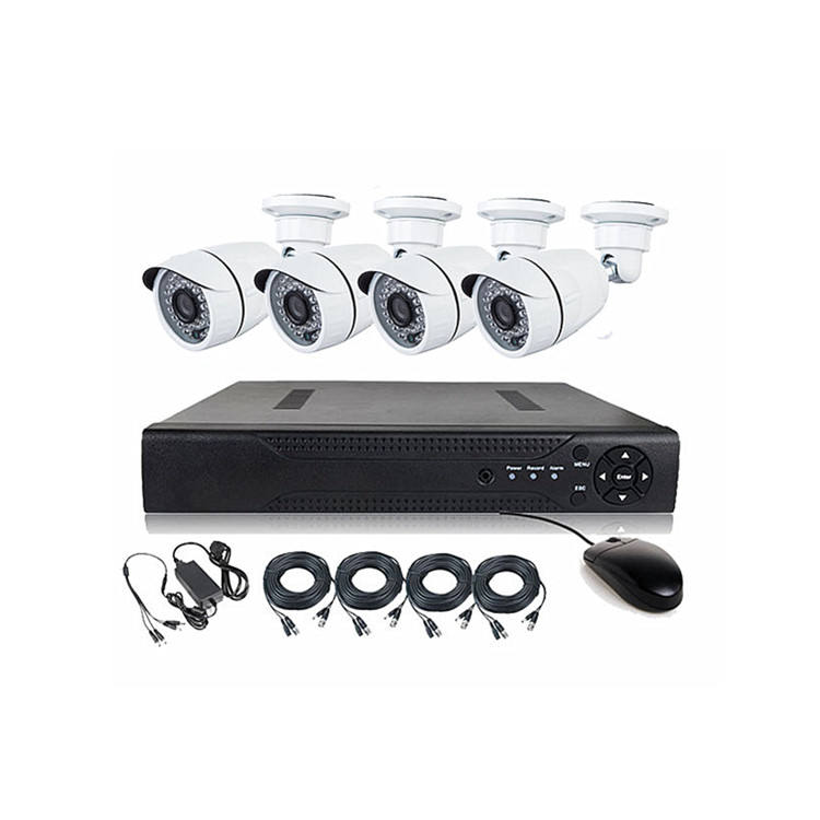 BESNT Home Security CCTV 1080 p AHD DVR kit 4CH 2.0MP Outdoor Kamera Set