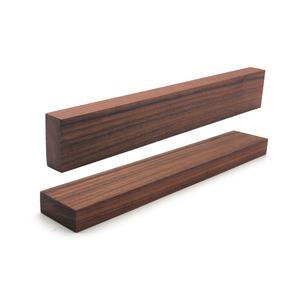 Popular 18 Inch Strong Magnet Strength Wooden Walnut Magnetic Knife Bar Magnetic Knife Strip with Neodyminium Magnets