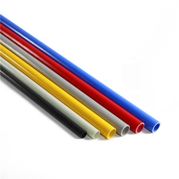 6mm*4mm OD*ID SGS High Strength Pultrusion Fiberglass Pipe /Tube Made In CHINA
