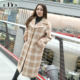 2020 new fashion over size women coat Spring Autumn Winter long garment plain coat