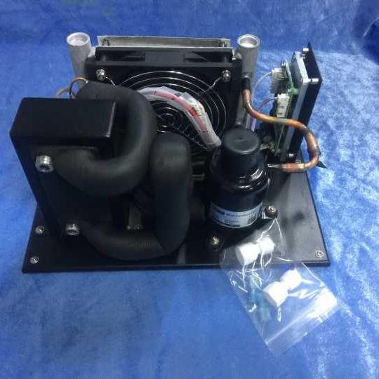 24v DC condensing unit water chiller with plate heat exchanger