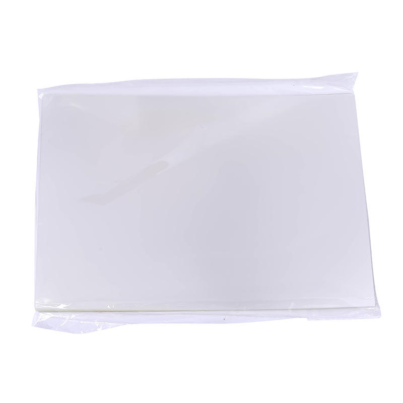 100 Sheets Clear Film for Flash Stamp Machine Stamp Seal Making Materials