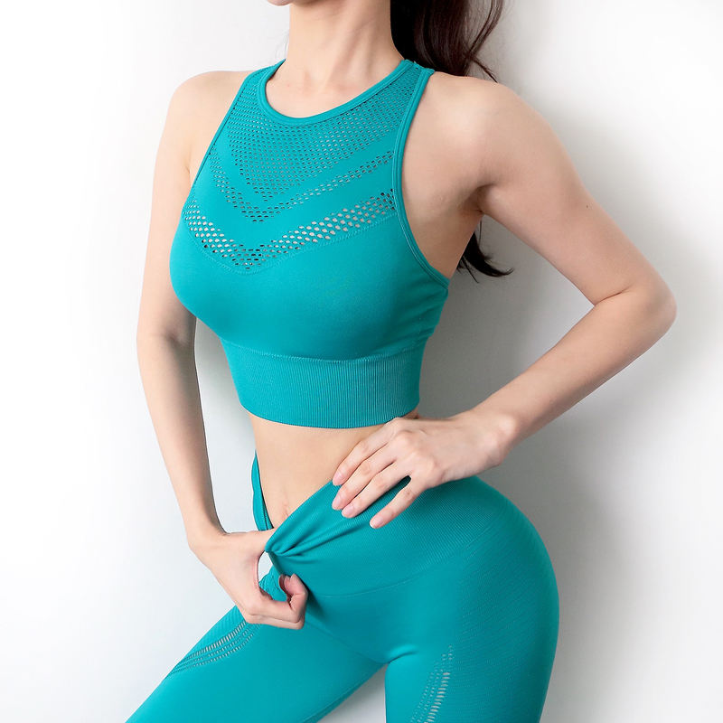 Women Outdoor Seamless Yoga Fitness Sports Running GYM Sportswear