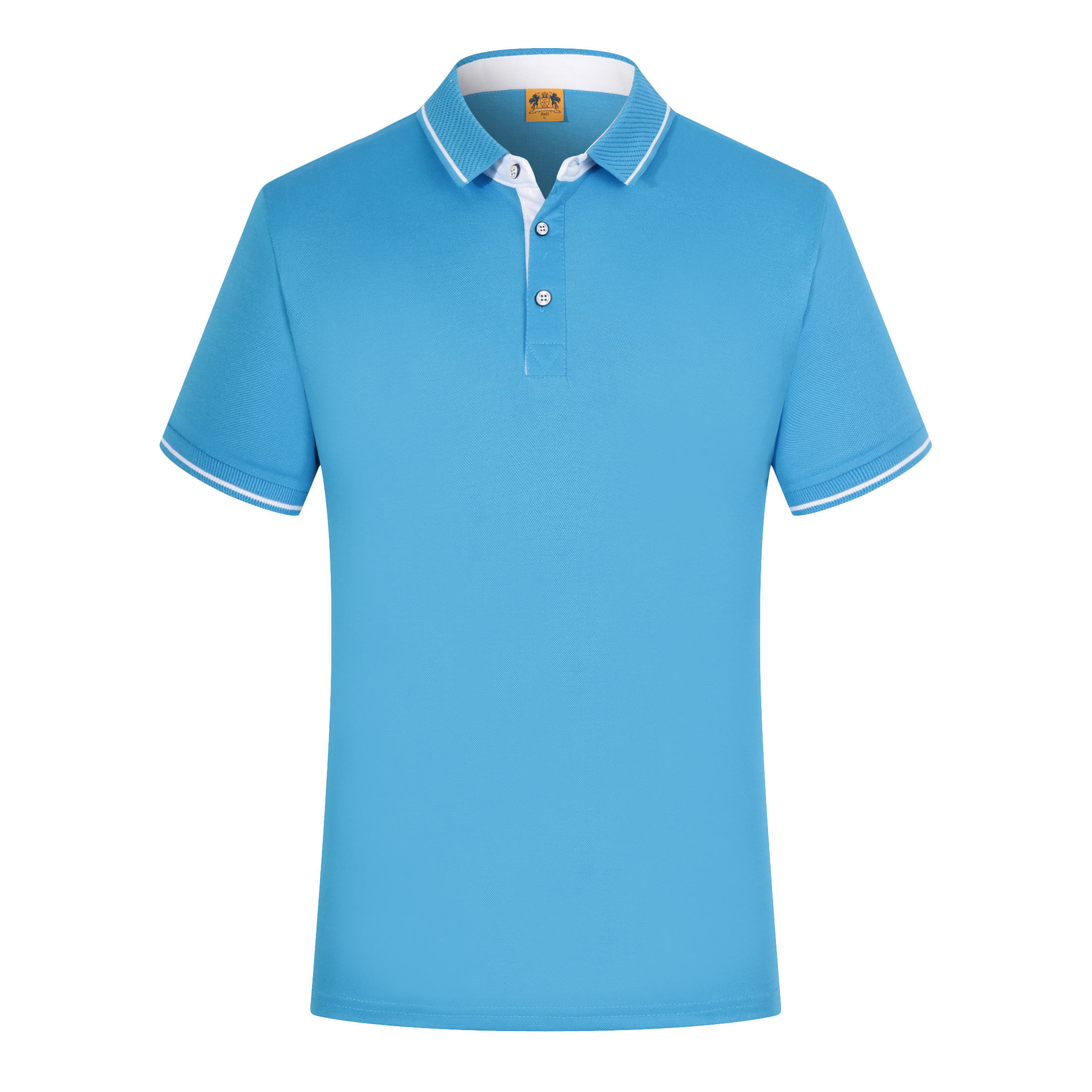 Competitive price 1 dollar garment logo design school polo t shirts