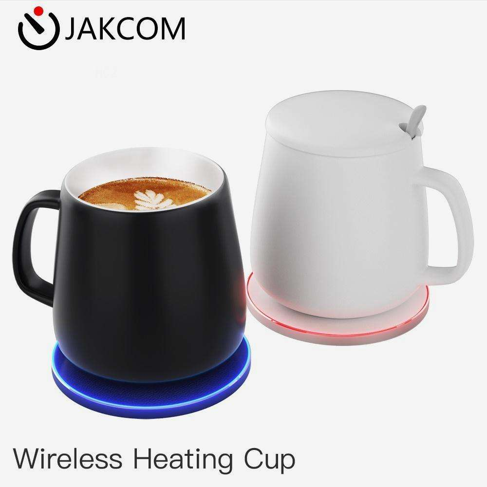 JAKCOM HC2 Wireless Heating Cup of Mugs like 15oz blank sublimation mug enamel vacumm plastic with handle bamboo lid best