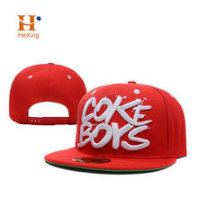 Free sample  custom 6 panel 3d embroidery hip hop snapback caps and snapback hats accept paypal