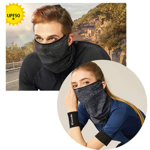 Wholesale Custom Adjustable Washable Reusable Winter Fleece Face Cover Scarf Windproof Headwear Adult Bandana Neck Gaiter//