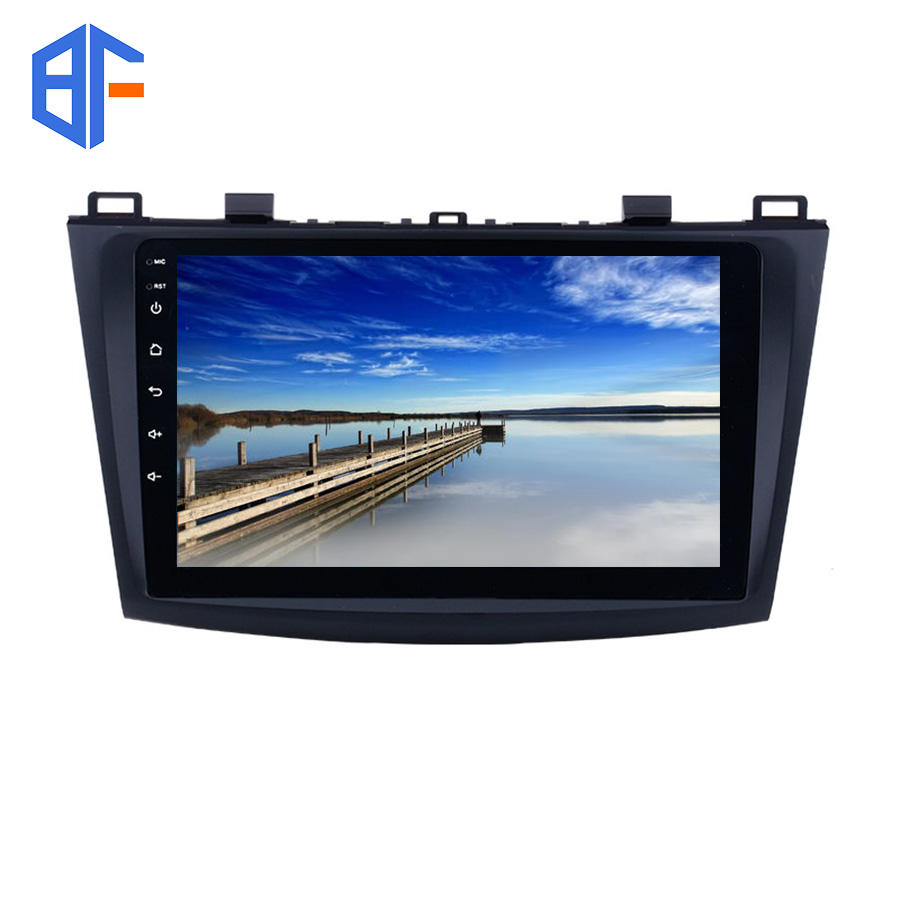 Schermo di Tocco pieno di Video WiFi Android Auto GPS Radio Bluetooth IPS Per per Mazda 3 2009 2010 2011 2012