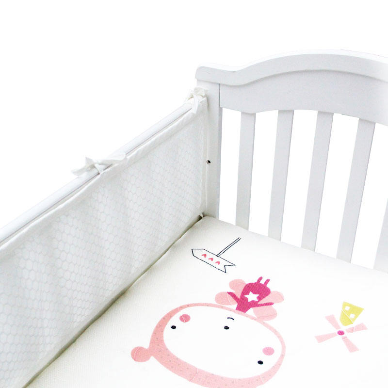 3D Breathable cool feeling Mesh soft baby bed or crib bumper