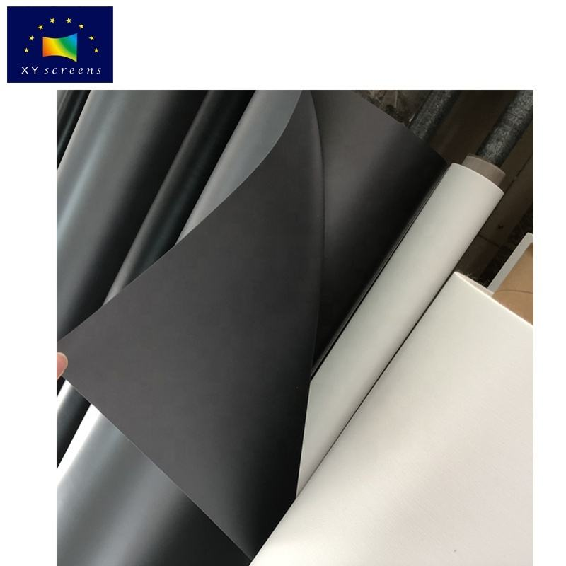 XY Screen only fabric 150inch 16:9 4K/3D ALR Anti light projection screen fabric for LED LCD long throw projector