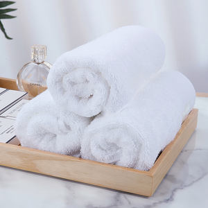 16S platinum satin 5 star resort luxury white face hand bath towel turkish cotton large bathroom set hotel cotton towel