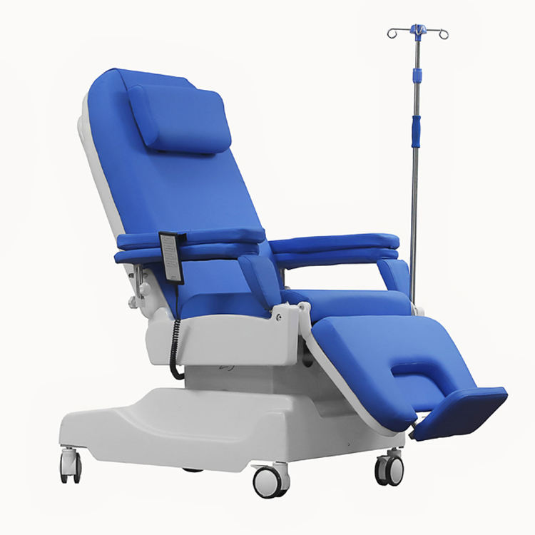 Factory Directly Sale Electric Blood Donor Drawing Hemodialysis Dialysis Chair