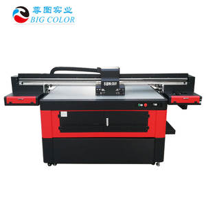 a0 muti function UV flatbed printer factory inkjet printer 6color cmyk w varnish with rotary printing
