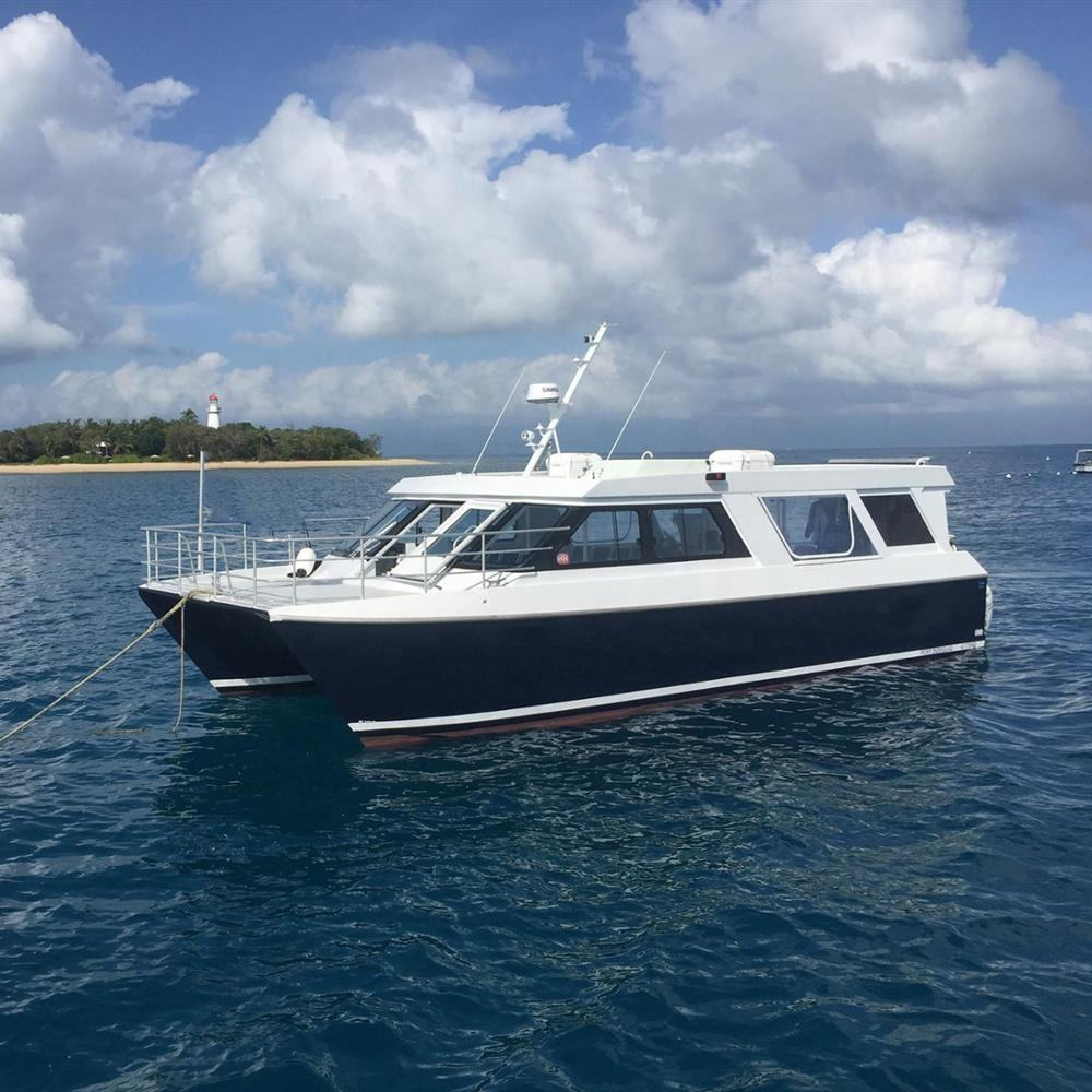 15m Aluminum Catamaran Transport Ferry Passenger Boat for Tourist