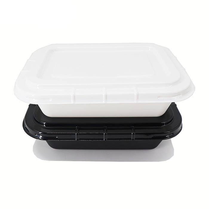 Cpet oem odm wholesale containers plastic blister black white microwavable oven frozen food ovenable disposable tray