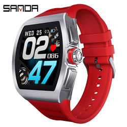 SANDA M1 High quality healthy watch android os heart rate bl