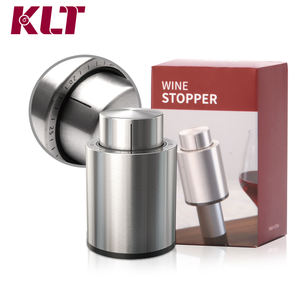 Stainless Steel Wine Saver Wine Vacuum Stopper Set In Stock