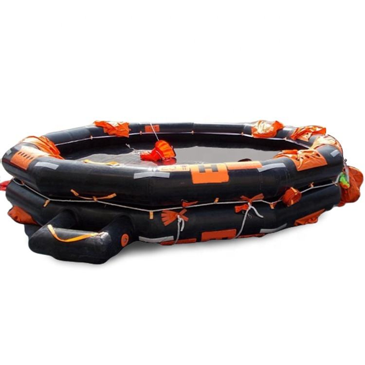 Open Reversible Type Inflatable Liferaft