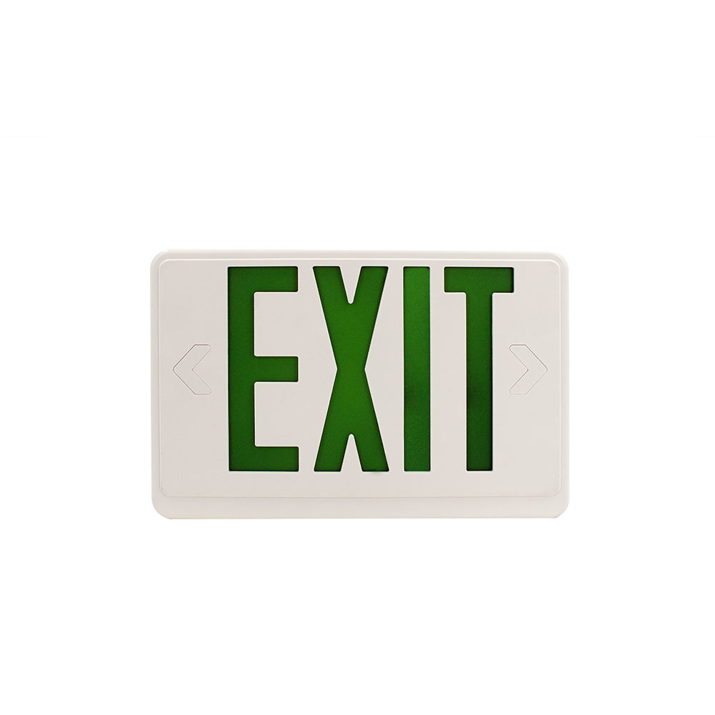 Freeway Emergency Lights China Ceiling Mounted Laser Cut Exit Sign Card