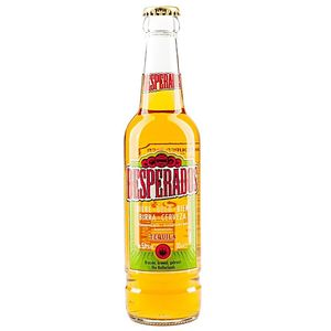 Light Color Beer Gold Colored Tequila Flavored Desperados Beer