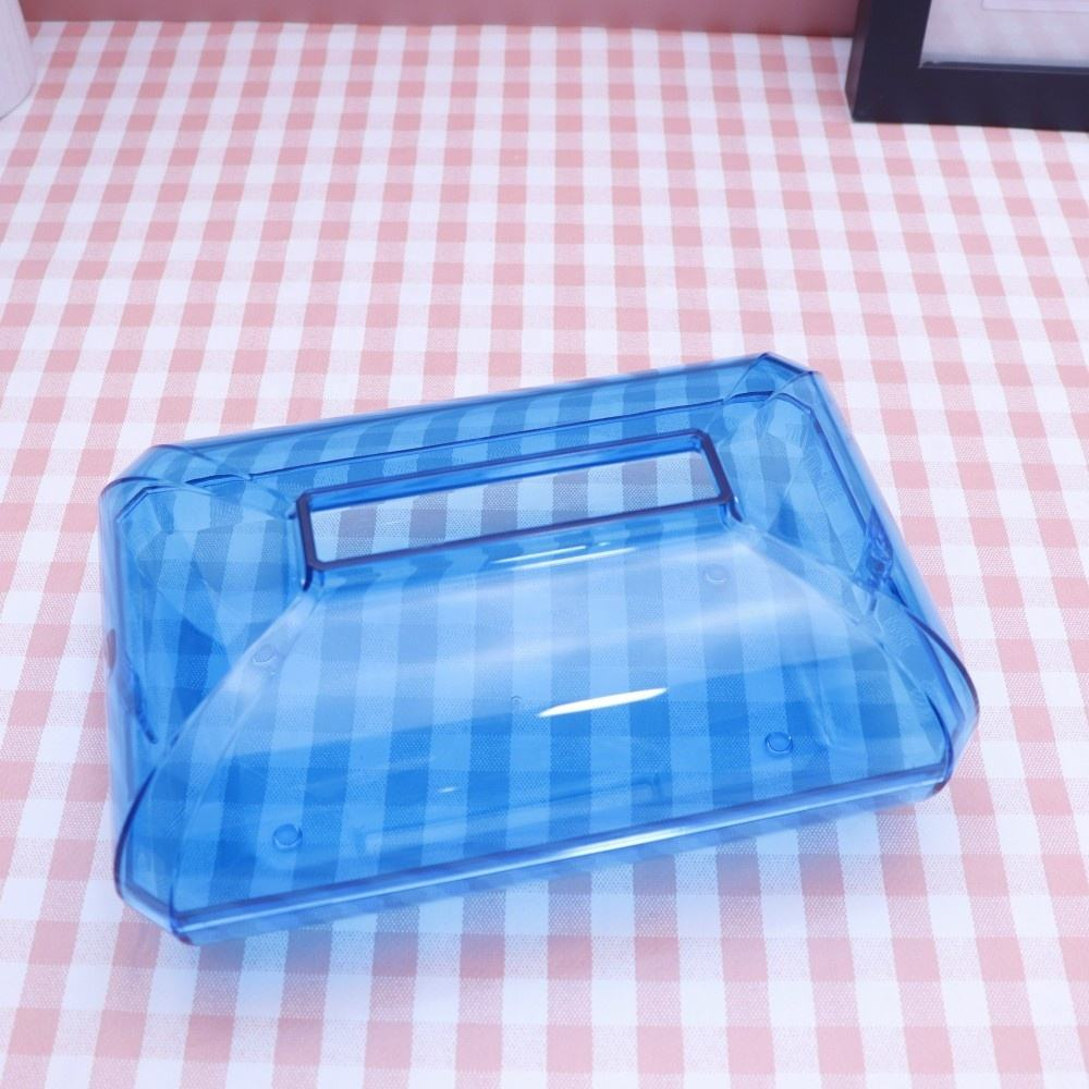 New Tissue Box with Home Car Napkins Case Home Organizer Decoration Tools Plastic Tissue Box Cover