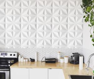 2020 Luxury PVC Wall Panel Living Room PVC 3D Wall Panel