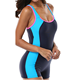 Sexy Girls Swimsuit Suit OEM Womens 1 Piece Upf50 Swimsuit Sexy Girls Short Sleeve Swimwear Custom Design Tank Suit