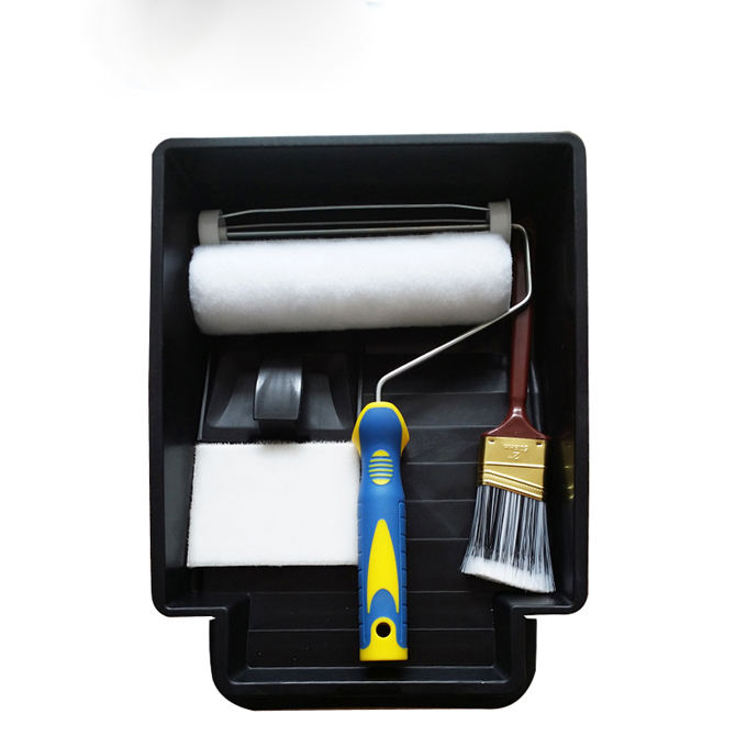 paint brush paint roller set Quality Paint Roller Tray For Painting Brush Roller
