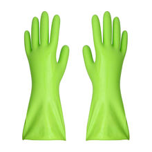 Household cleaning latex gloves silicone dishwashing gloves kitchen rubber gloves
