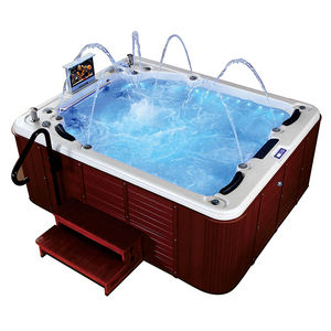 outdoor whirlpool massage hot tubs