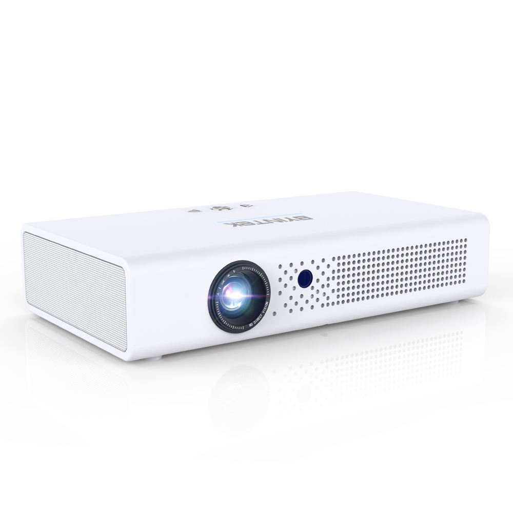 BYINTEK R19 Smart Android WIFI Video Portable Mini DLP 3D Projector for Iphone 11 700ANSI