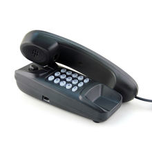 Wall Mounted Hotel Telephone Corded Telephone with Replay
