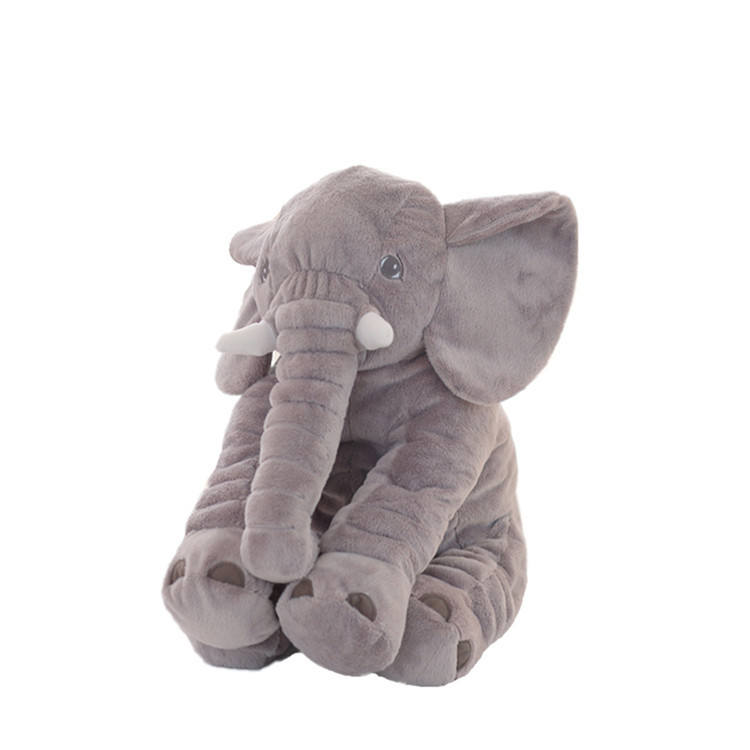 Factory Direct Animals Toy gift doll Different Color Plush Elephant Pillow