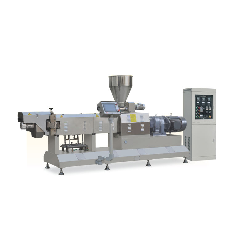 Industry Use Small Capacity Twin Screw Extrusion Puffed Cereals Corn Flakes Machine Price
