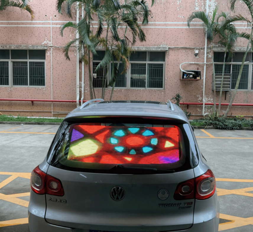 IP45 indoor voll farbe taxi top led display auto led werbung display taxi fenster digital display