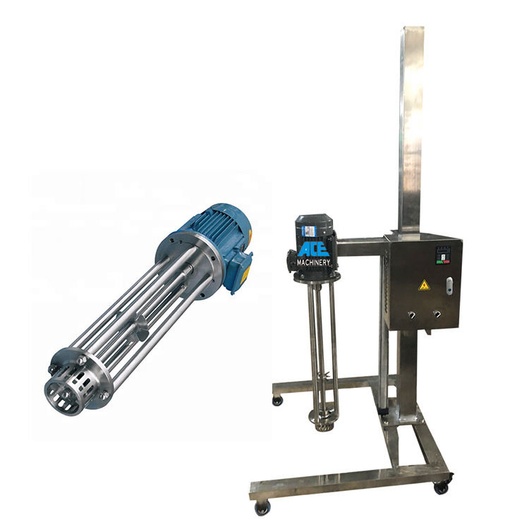 Cream Cosmetic Shampoo Liquid High Shear Homogenizer Mixer Emulsifier Mixer dispersing Silverson High Shear Mixer Prices