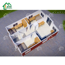 2020 hot sale container house prefabricated 3 bedroom house floor plans