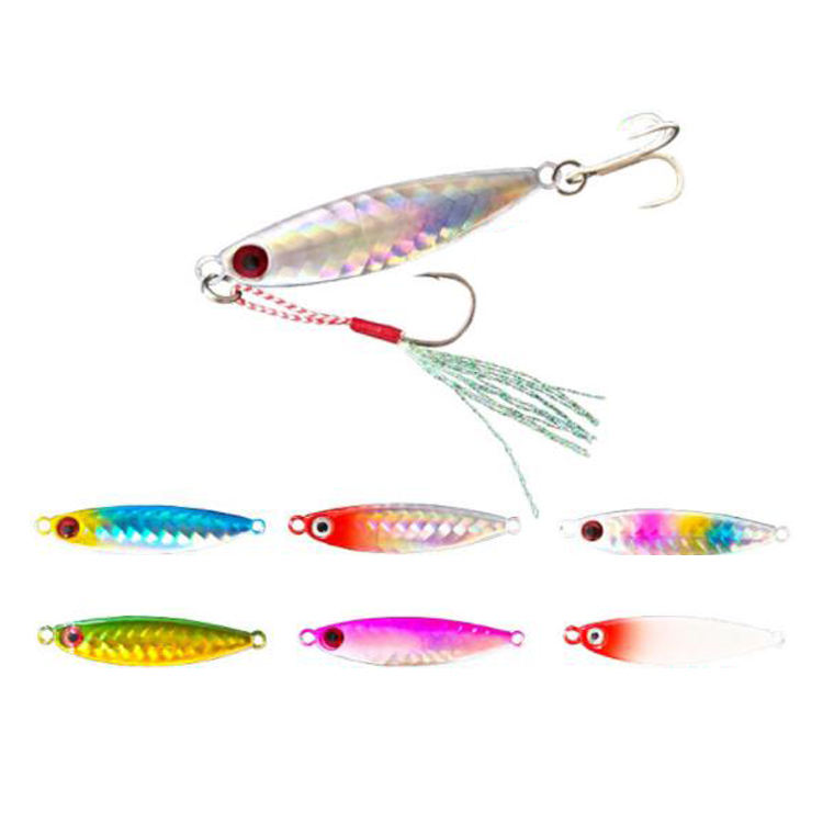 Top Lure TL-L065 free shipping 10g 14g 17g 21g seawater fishing lure metal Lead jig fish lure