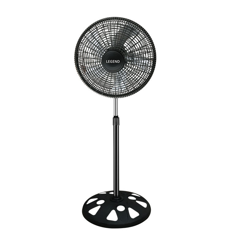 TNT Star 725 18 Inch Adjusted Height Floor AC Oscillating Electric Stand Fan