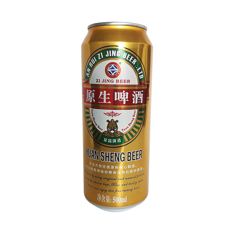 Hot Sale best market price for ZIJING beer 500ml can and bottle