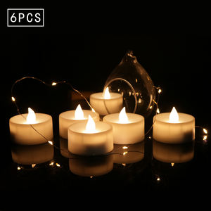 Electric candle/battery operated tea candles Led Candle Flickering Tea Lights with Timer