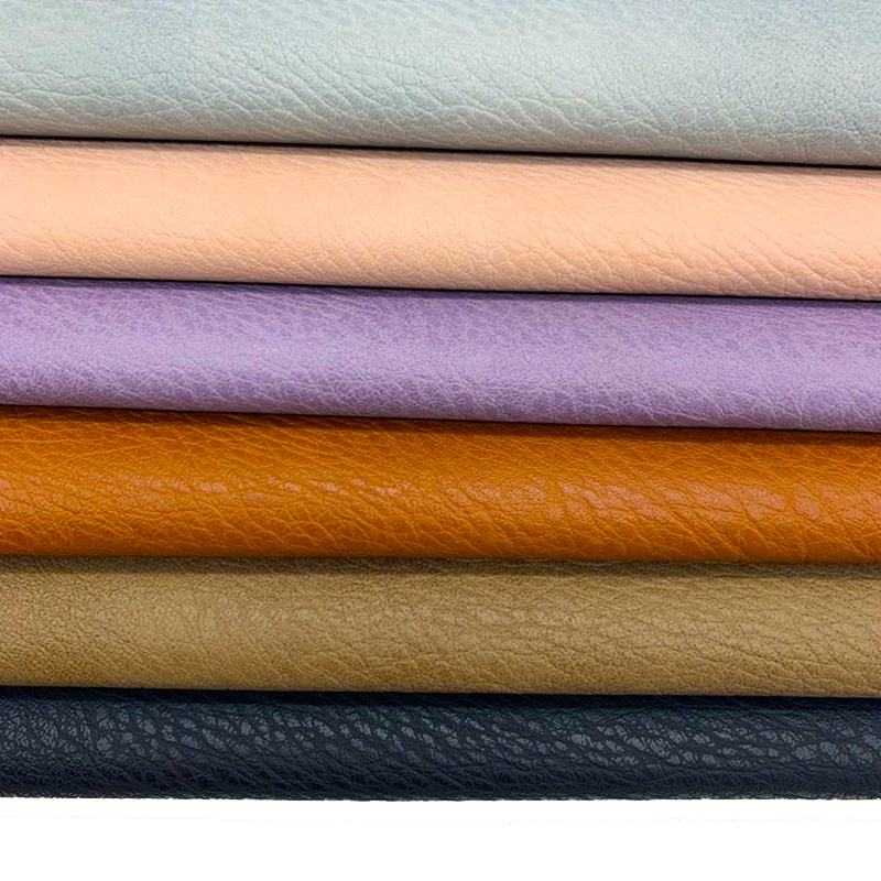 chinese leather factories sale cheap pu pvc artificial leather, handbag materials