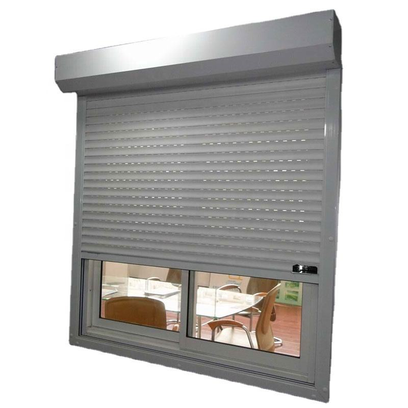 roller shutter window for exterior use