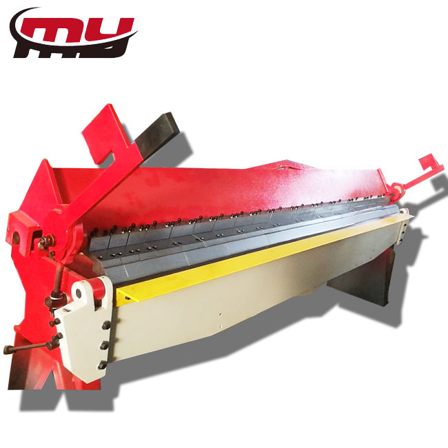 MYT brand W 2X3050 Metal Hand Folding Machine / Aluminum Sheet Manual Bending Machine