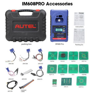 2021 additional immo im608 car key chip programmer program coding programming machine diagnostic tool autel im 608 pro im608 pro