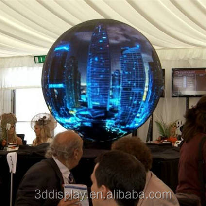 Global Flexible Display Market Wave Sphere Dome 360Degree Led Displays