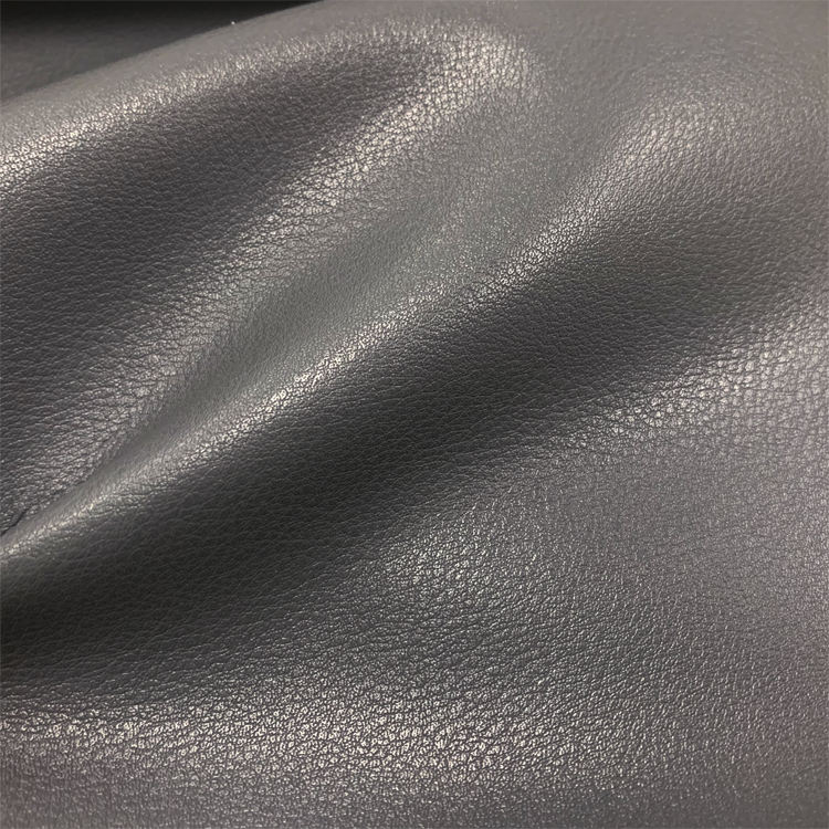 Fire Retardant Eco Friendly Fake PU Microfiber Leather For Hotel Upholstery