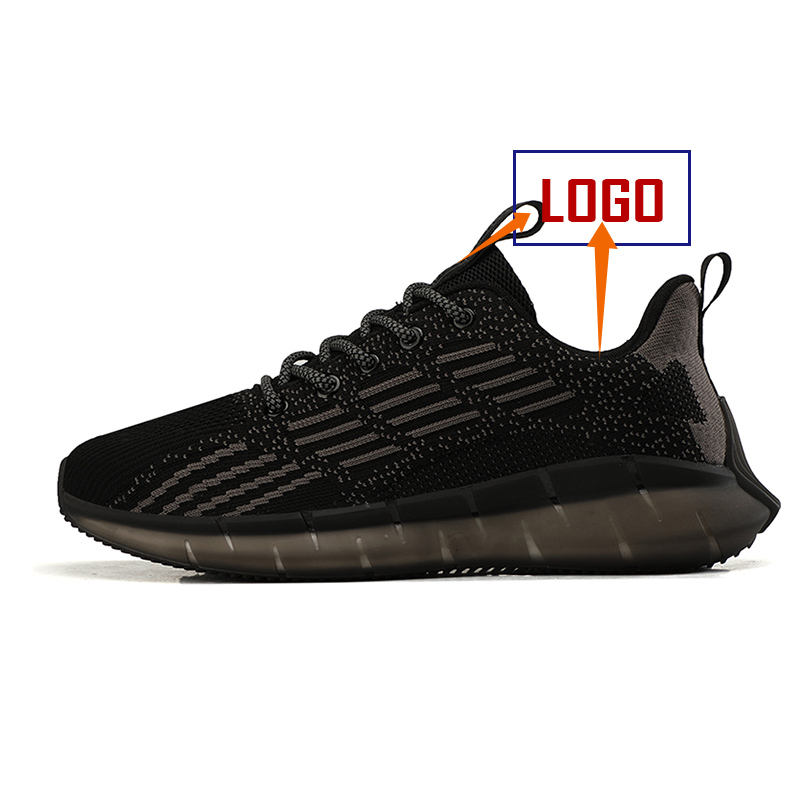 Logo Custom Breathable Lightweight Comfortable Autumn Air Sports Shoes for Men